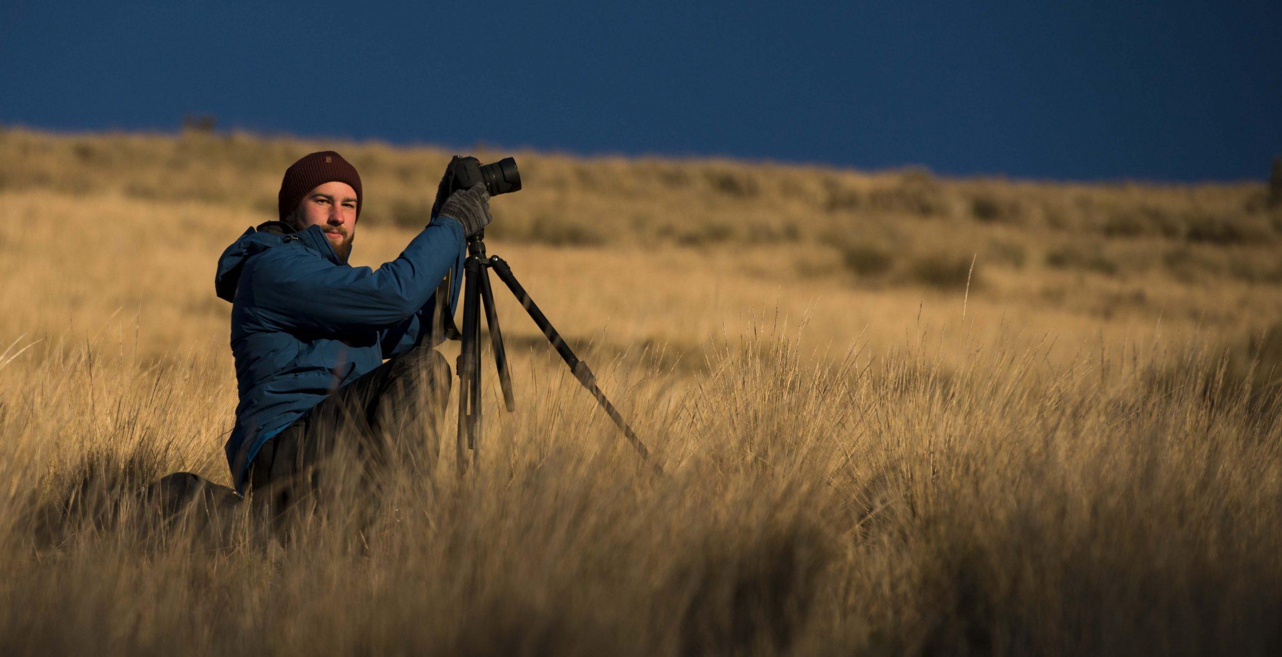 Portrait of Canadian photographer Matt Jenkins